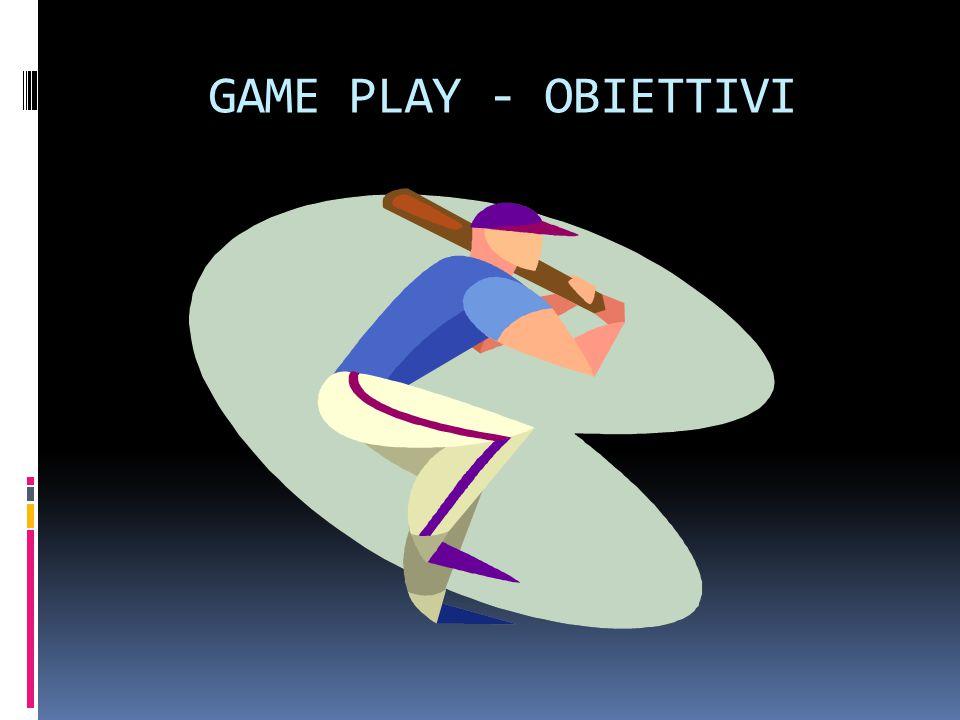 GAME PLAY - OBIETTIVI