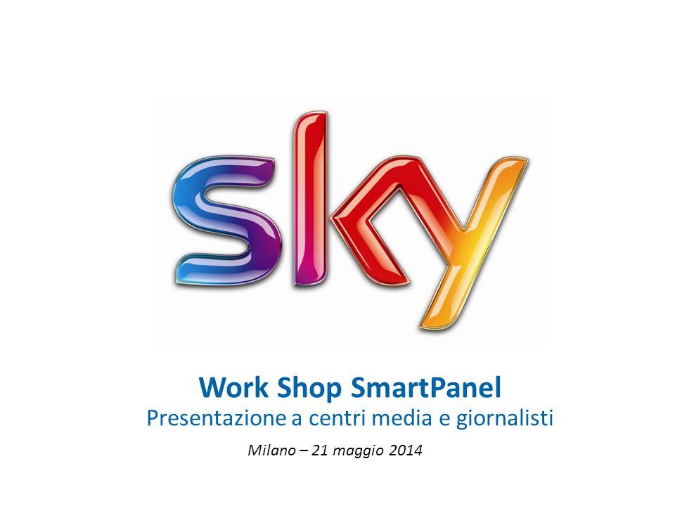0 Milano – 21 maggio 2014 Work Shop SmartPanel Presentazione a centri media e giornalisti
