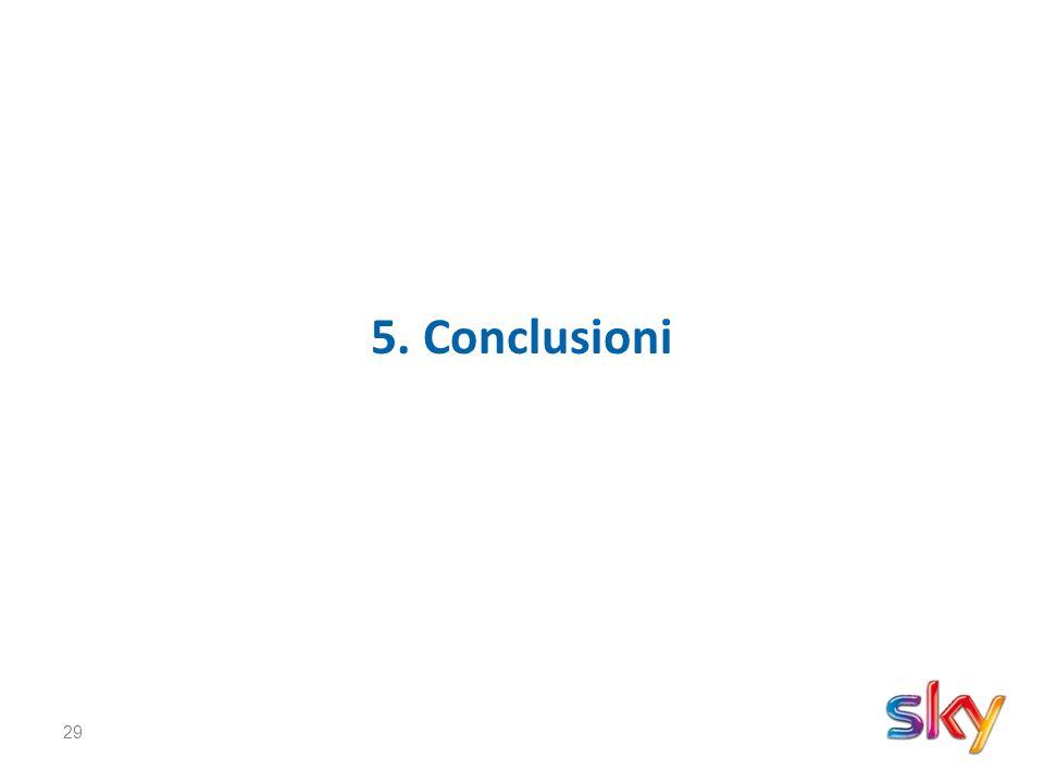 29 5. Conclusioni