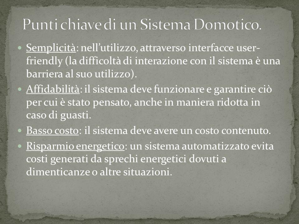 Semplicità: nell'utilizzo, attraverso interfacce user- friendly (la difficoltà di interazione con il sistema è una barriera al suo utilizzo).