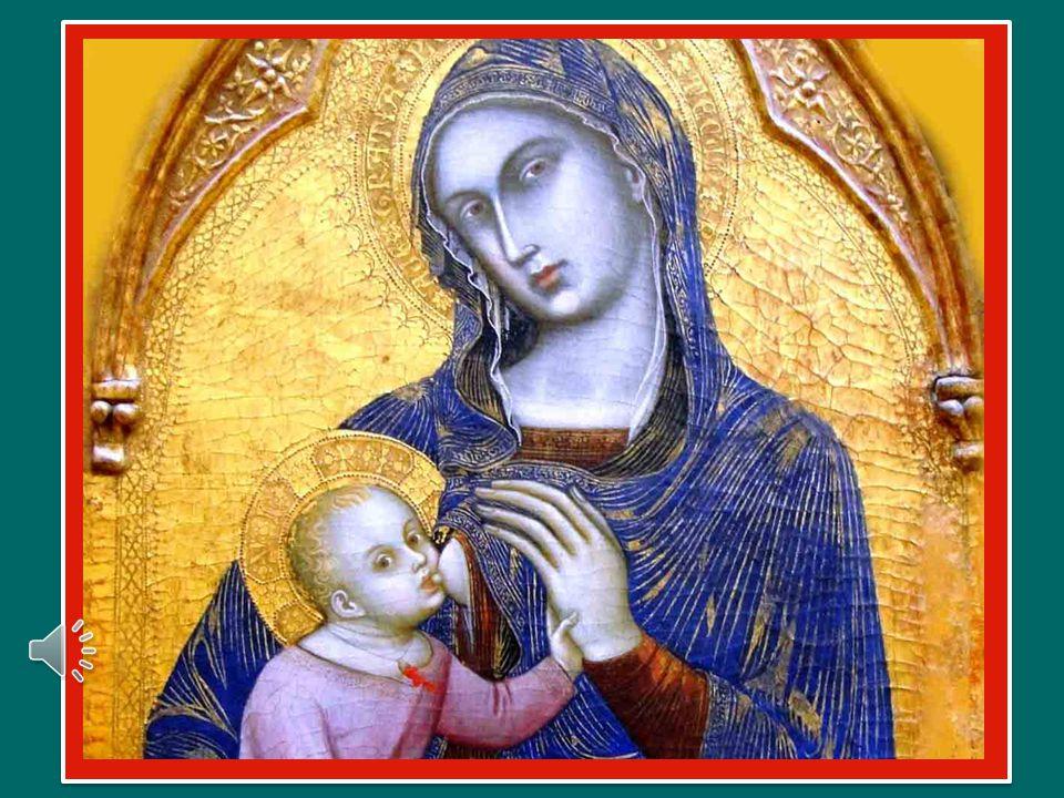 La sua nascita è un germoglio di vita nuova per tutta l'umanità.