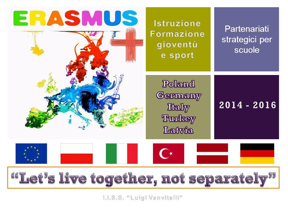+ Partenariati strategici per scuole