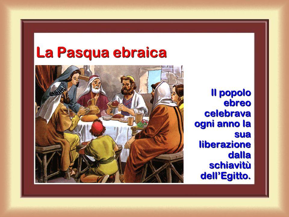 Il sacrificio dell'agnello Dio volle che ogni anno si sacrificasse un agnello per celebrare la festa della Pasqua in ricordo della liberazione dall'Eg