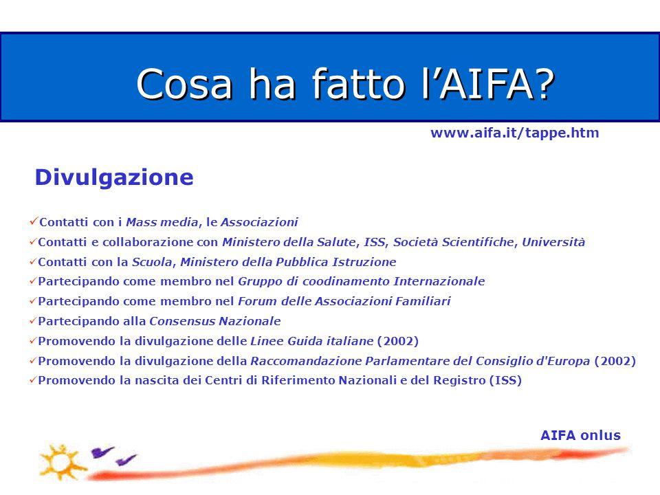 Cosa ha fatto l'AIFA.
