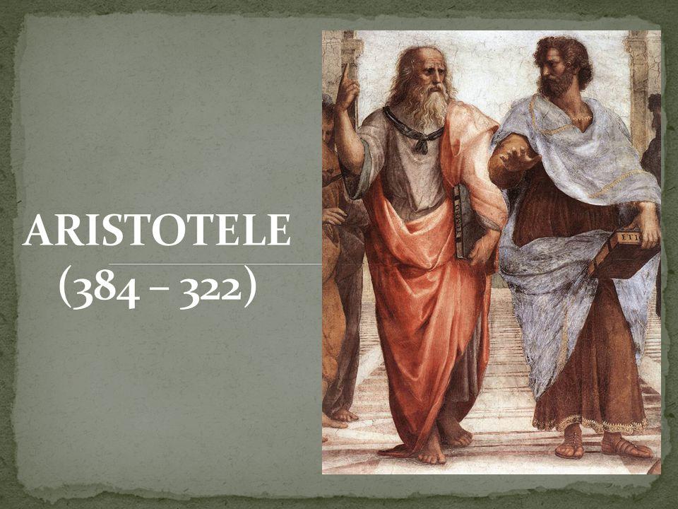 Aristotele divide il cosmo in due realtà ben distinte: il mondo sublunare e quello sovralunare (o celeste) Il primo è costituito dai 4 elementi tradizionali: terra, acqua, aria, fuoco.