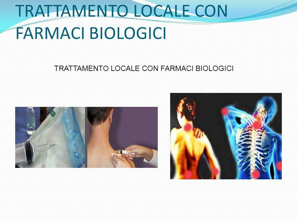 TRATTAMENTO LOCALE CON FARMACI BIOLOGICI
