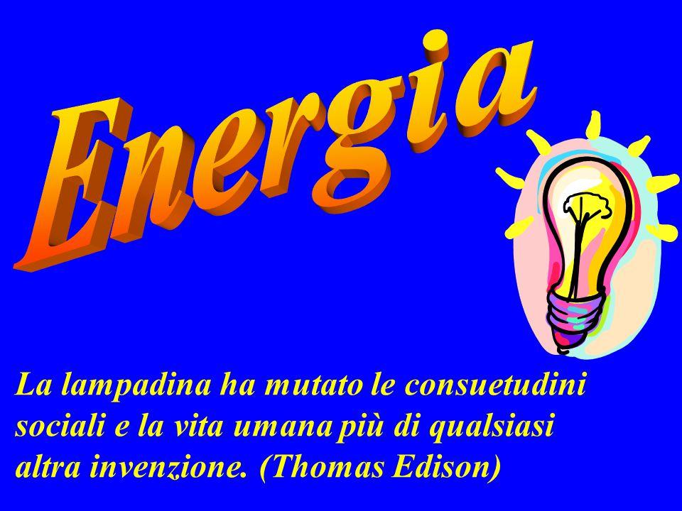 La lampadina ha mutato le consuetudini sociali e la vita umana più di qualsiasi altra invenzione. (Thomas Edison)
