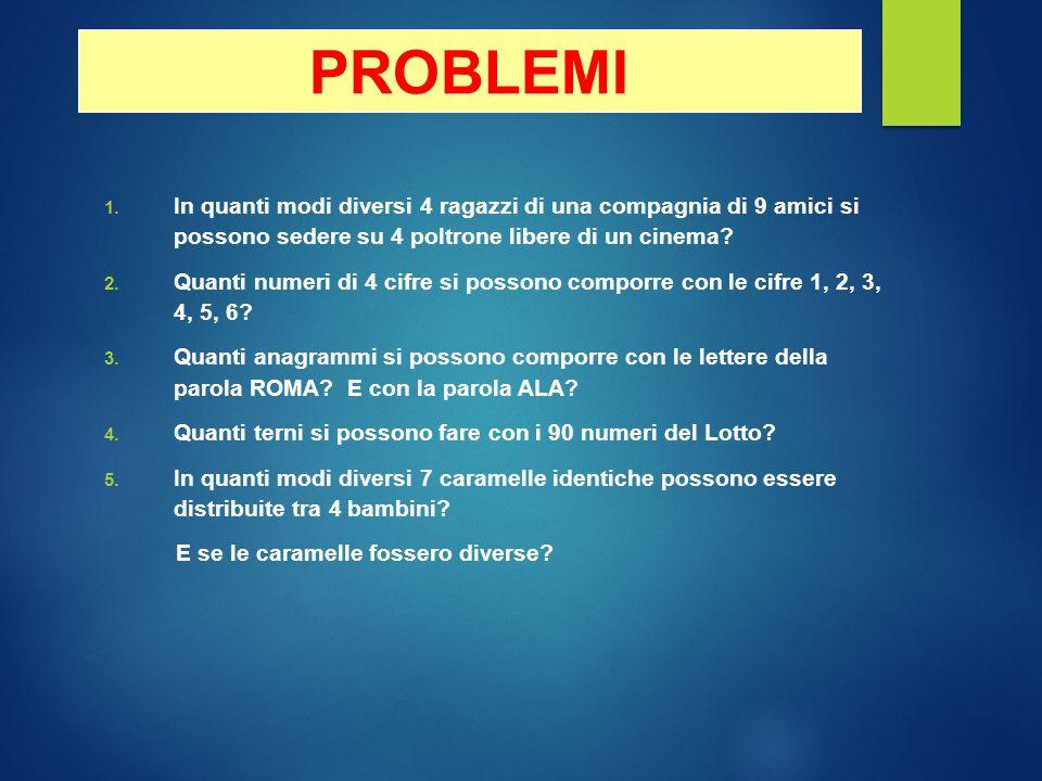 PROBLEMI 1.