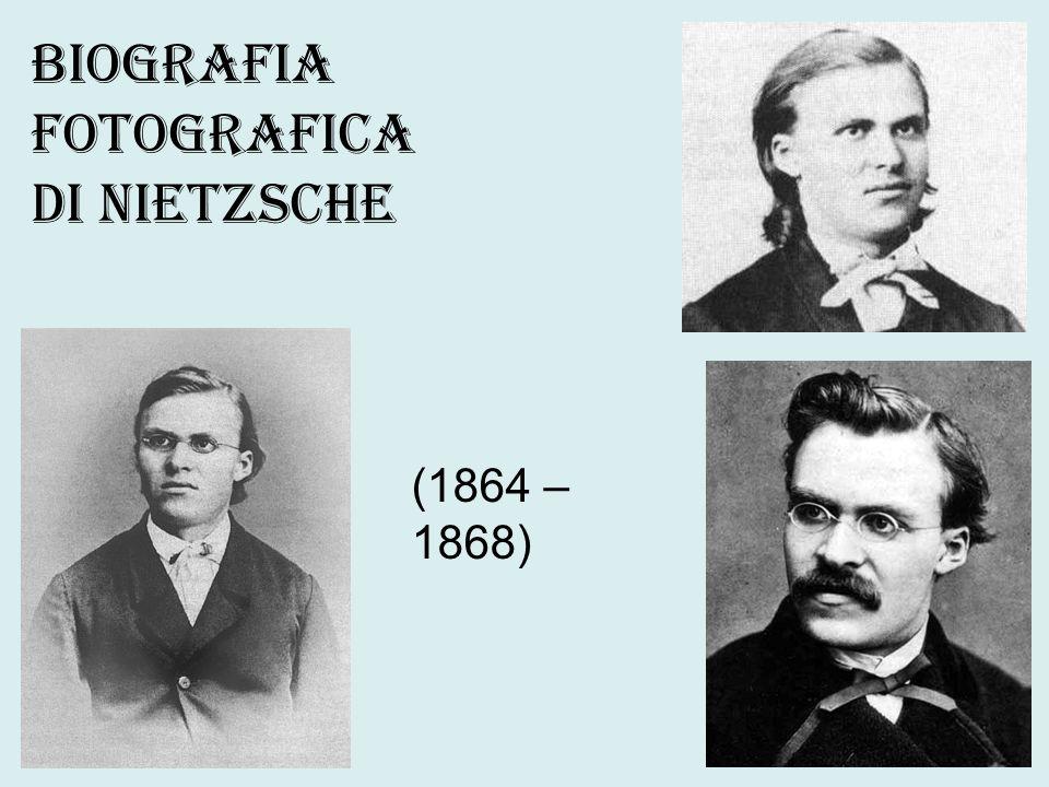 Ammiratore di Schopenhauer, Nietzsche ne accoglie la visione dell esistenza minacciata da forze immensamente più potenti.