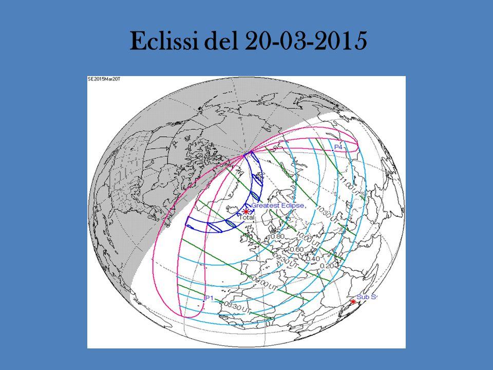 La fascia di totalità interessa l'estremo nord dell'Europa, passando per le isole Faroer e per le isole Svalbard Da Orta l'eclissi è parziale e ha un grado di copertura del 65%