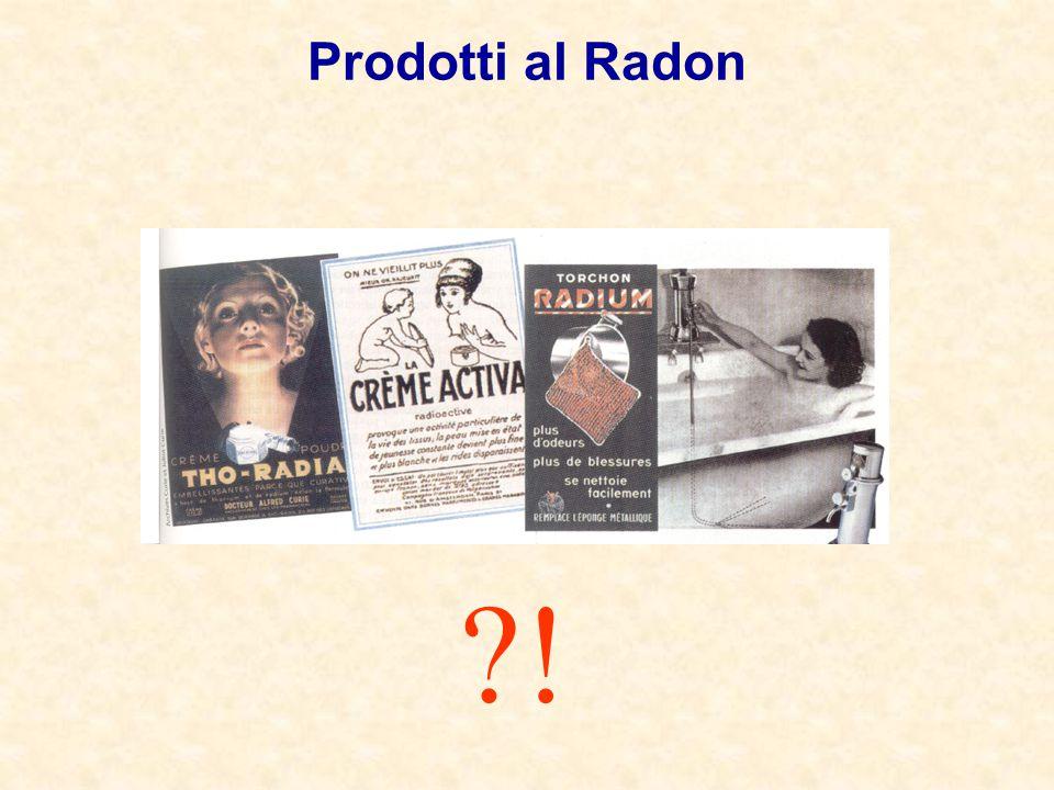Prodotti al Radon ?!