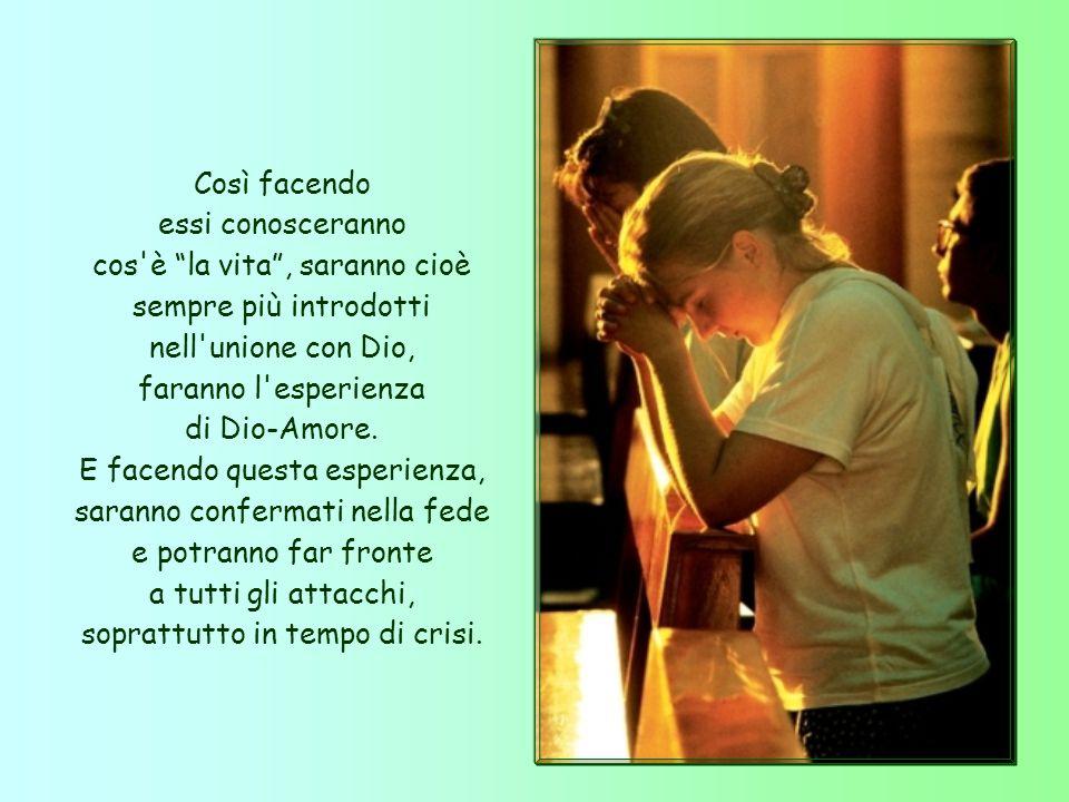 Volendo aiutare i suoi, l'apostolo indica loro il rimedio radicale: amare i fratelli, vivere il comandamento dell'amore ricevuto fin dall'inizio nel q