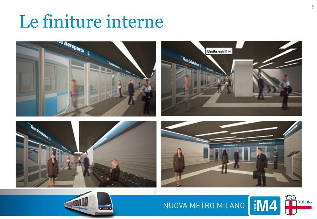 Il tracciato 6 M4 LINEE SUBURBANE (stazione di interscambio di futura realizzazione) LINEE SUBURBANE M1 M2 FORLANINI FS DATEO S.