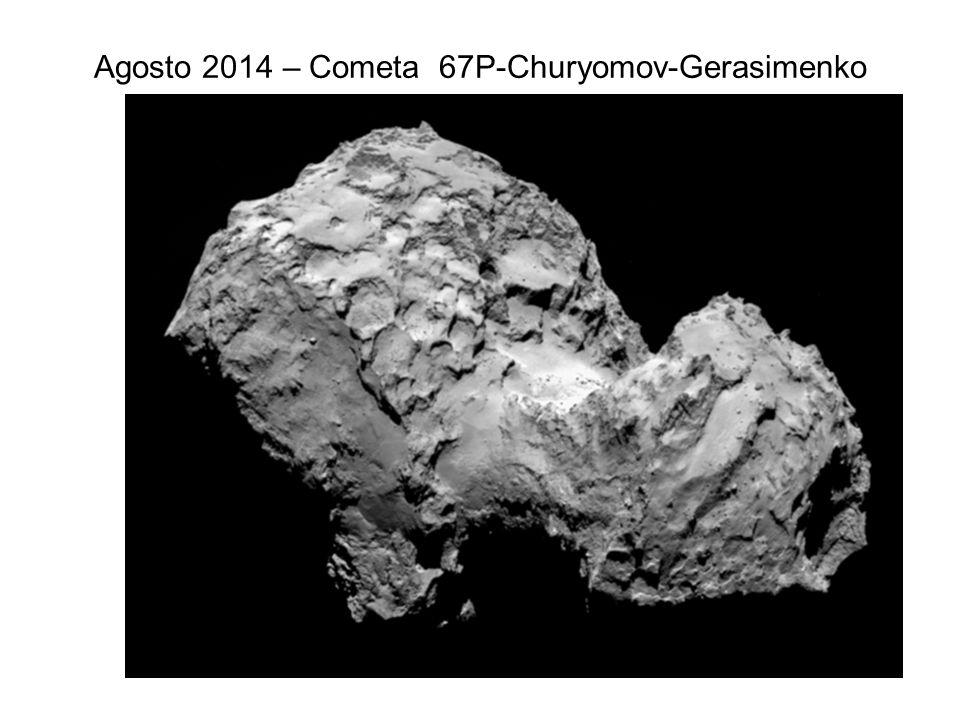 Agosto 2014 – Cometa 67P-Churyomov-Gerasimenko