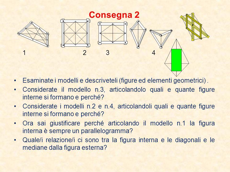 Def.Rettangolo: . Quadrilatero a mediane perpendicolari che si bisecano Def.