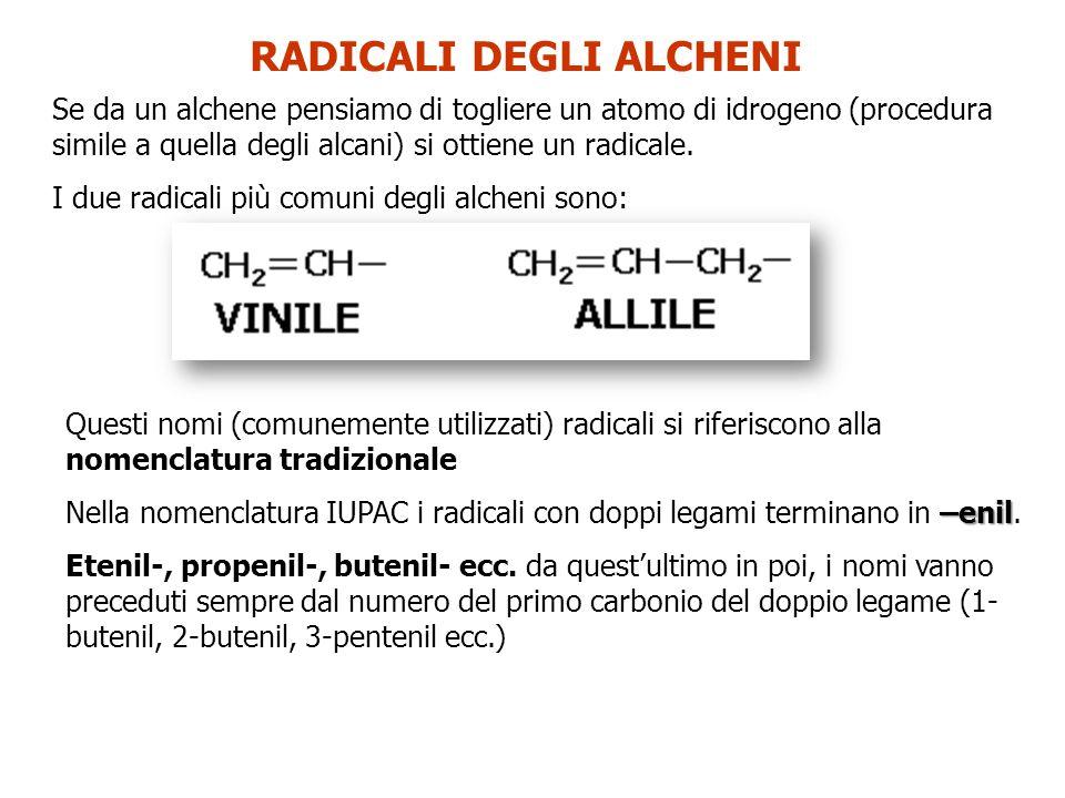 ALCHINI IDROCARBURI INSATURI (uno o più LEGAMI TRIPLI fra atomi di Carbonio) Formula generale C n H 2n-2
