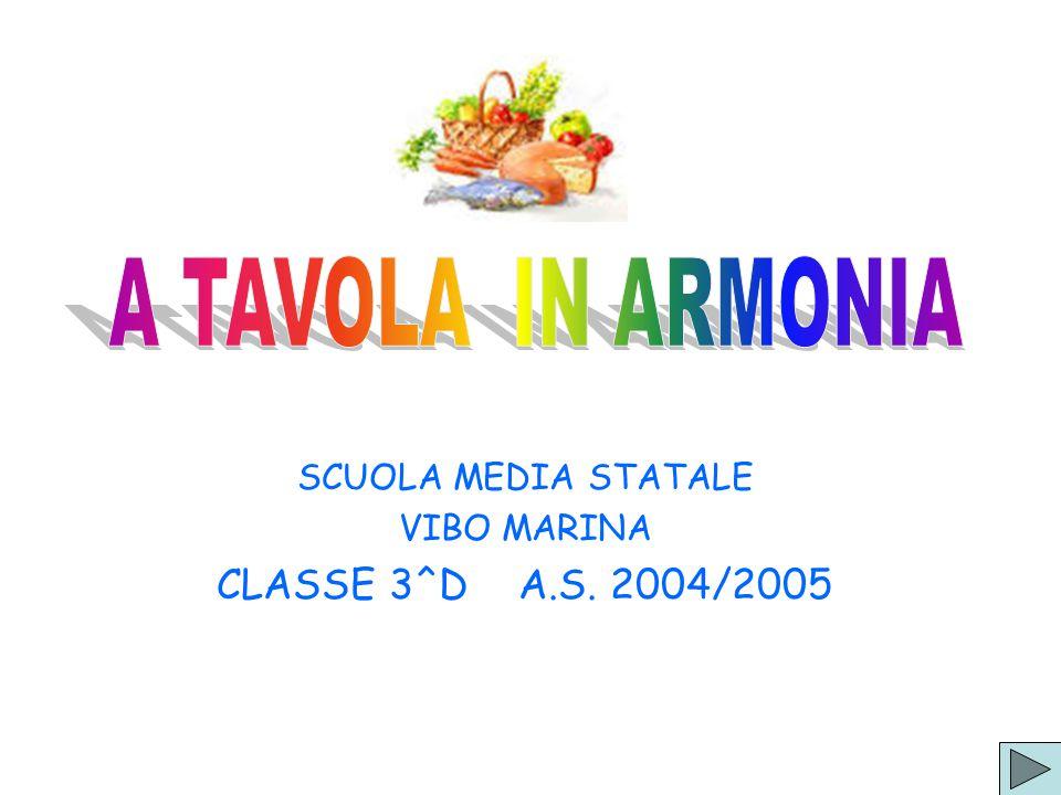 SCUOLA MEDIA STATALE VIBO MARINA CLASSE 3^D A.S. 2004/2005