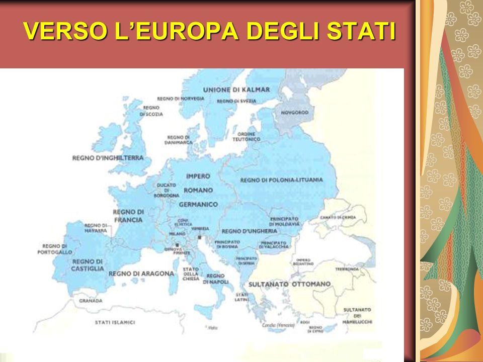 La nascita dello Stato moderno IL RE: IL RE: la sua figura si fece sempre più centrale rispetto al periodo medievale.
