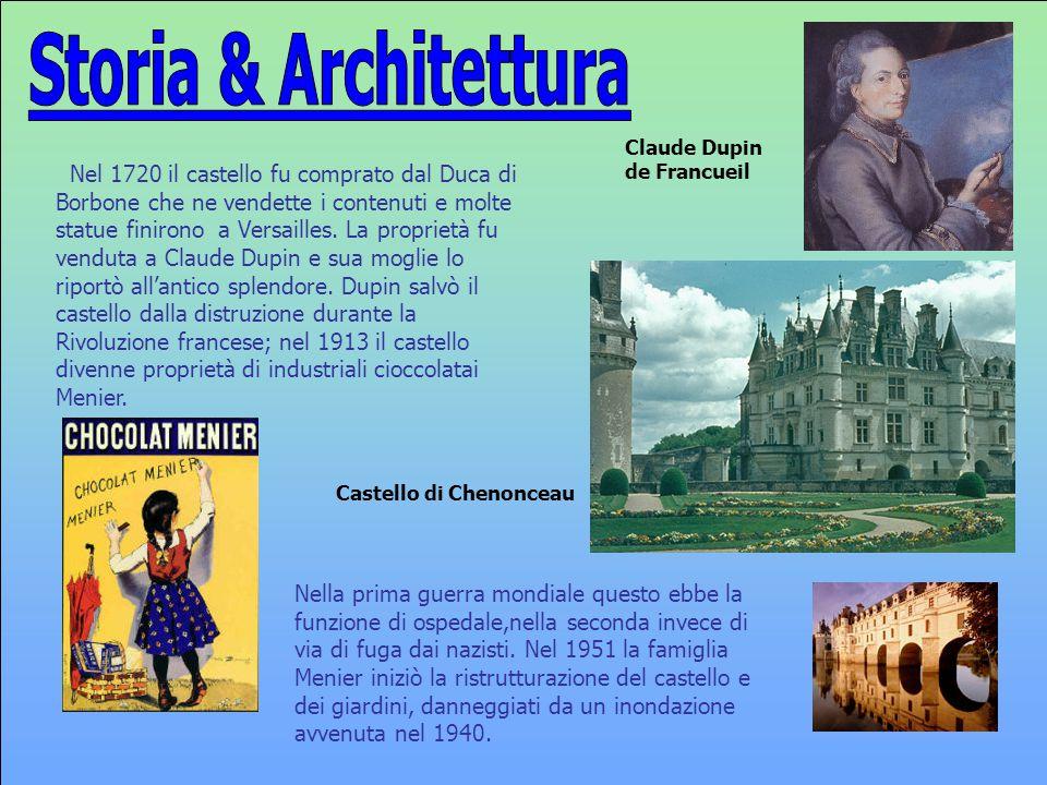 Nel 1720 il castello fu comprato dal Duca di Borbone che ne vendette i contenuti e molte statue finirono a Versailles. La proprietà fu venduta a Claud