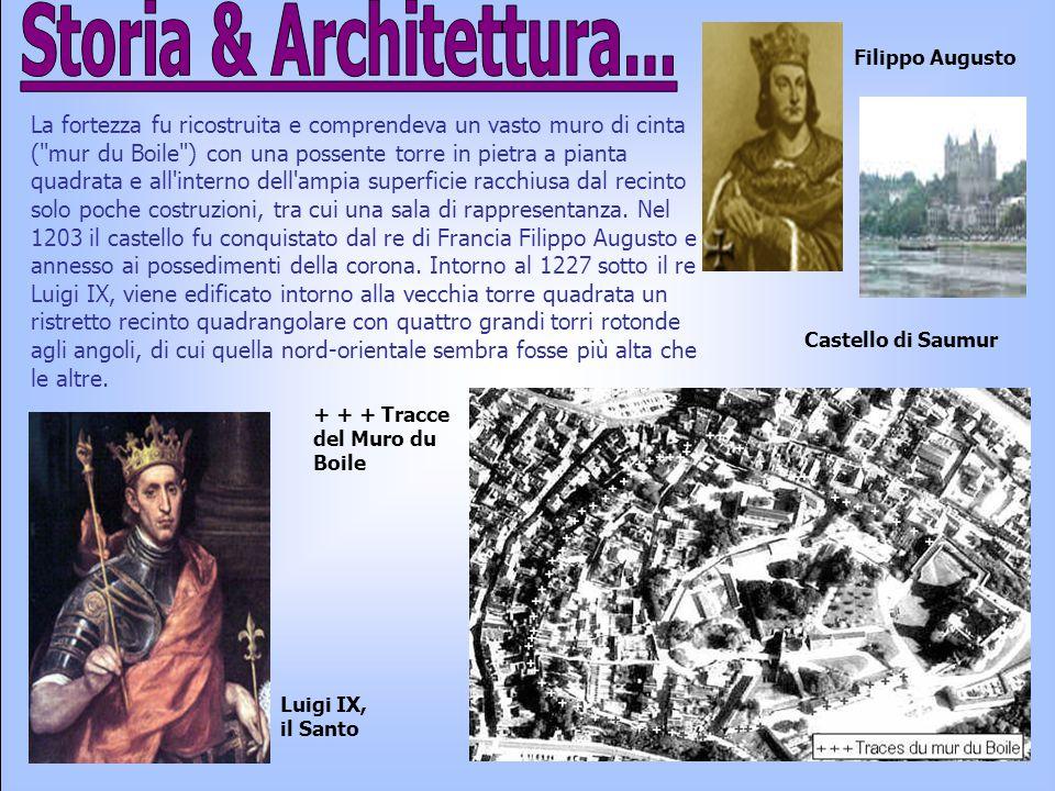La fortezza fu ricostruita e comprendeva un vasto muro di cinta (
