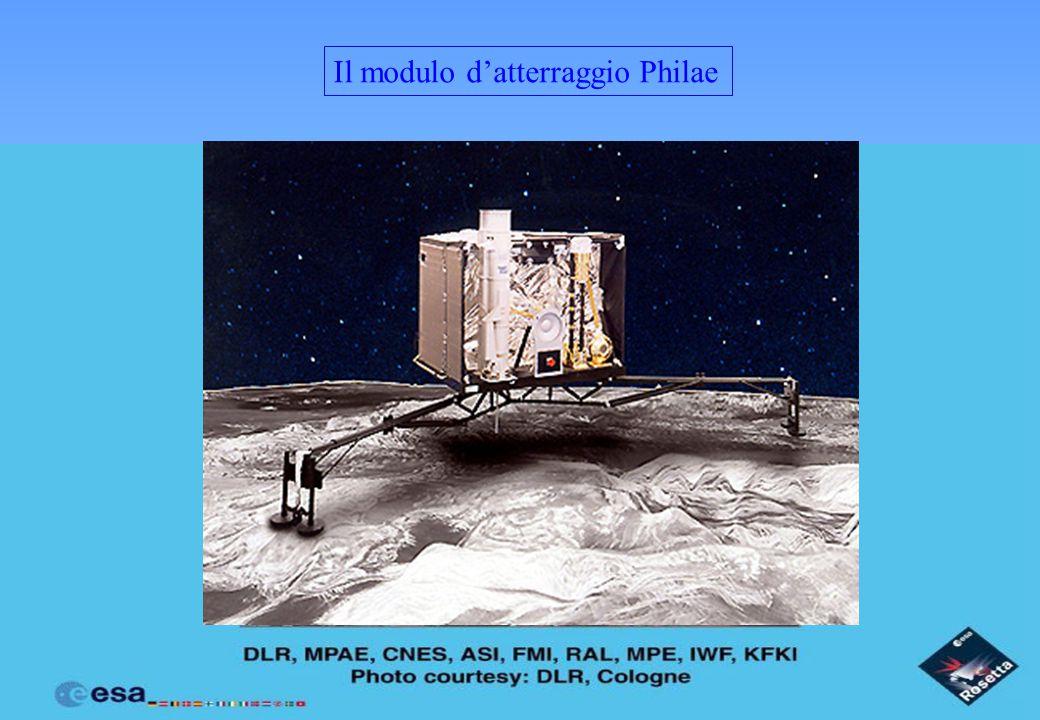 Il modulo d'atterraggio Philae