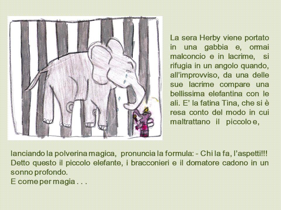 Herby si risveglia accanto ai suoi genitori, felice di essere di nuovo libero