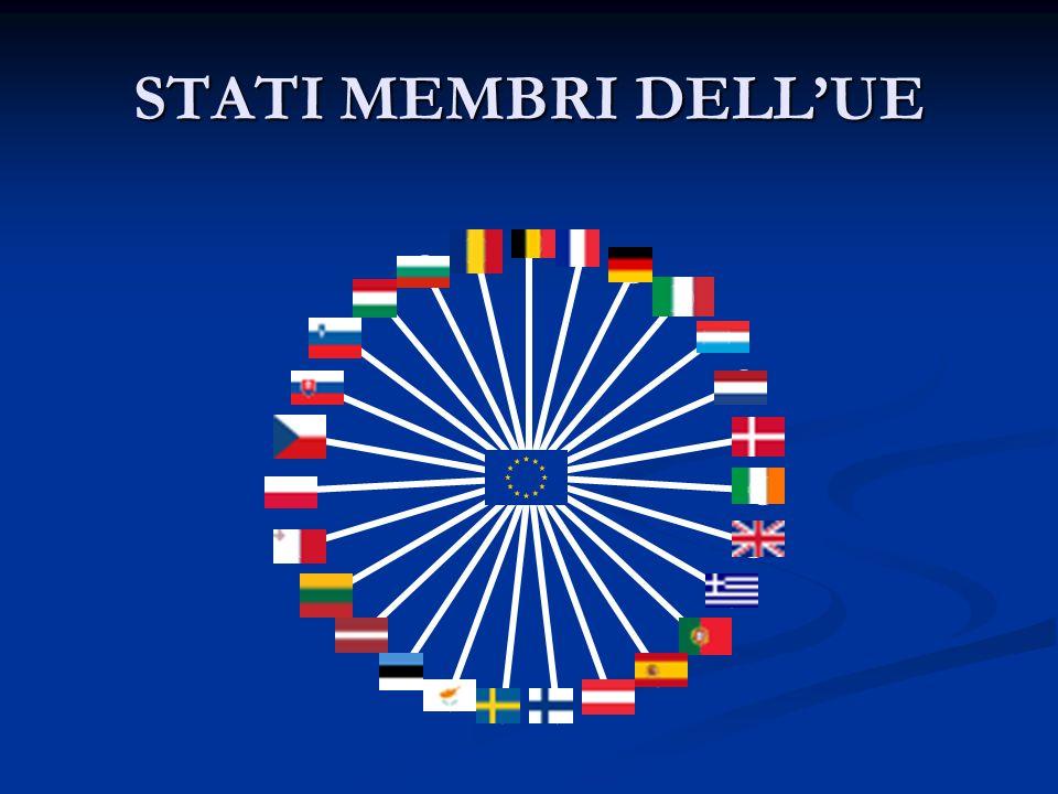 STATI MEMBRI DELL'UE