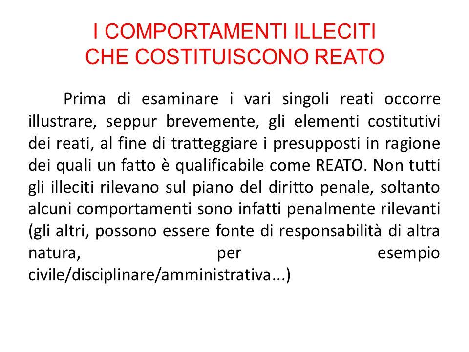 PRINCIPIO DI LEGALITA' Principio di tassatività e di riserva di legge Art.