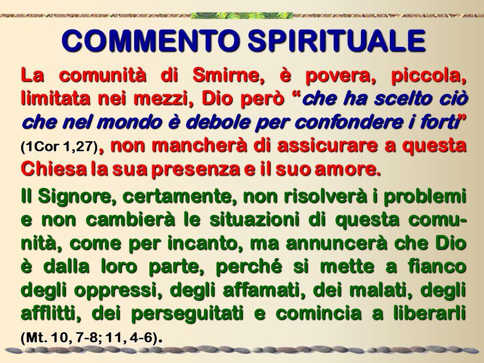 Rendendo visibile l'agire stesso di Dio, Gesù va incontro a ogni miseria spirituale e materiale.