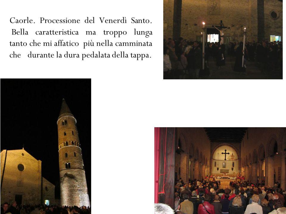 Caorle. Processione del Venerdì Santo.