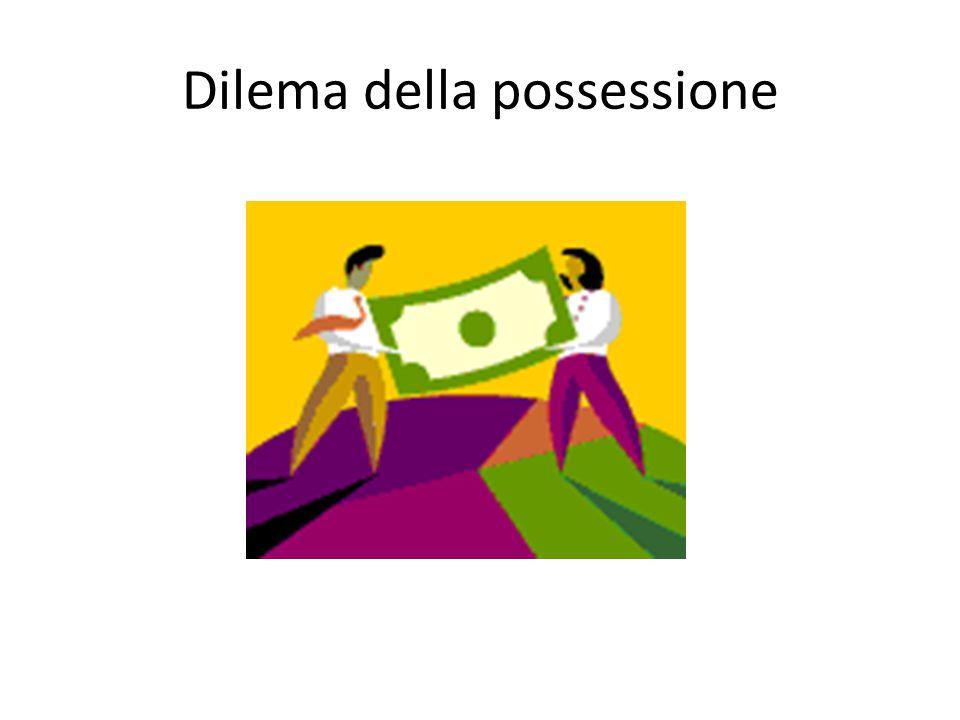 Dilema della possessione