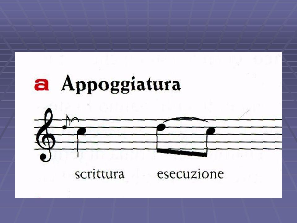 Abbellimenti musicali   L'abbellimento è un qualcosa che viene aggiunto a scopo decorativo o ornamentale (da qui il termine
