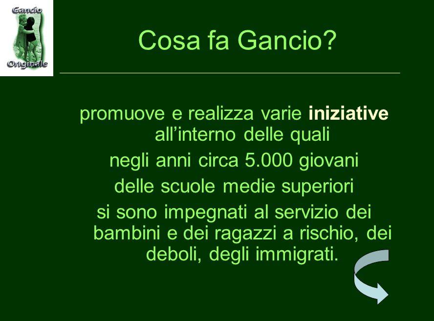 Cosa fa Gancio.
