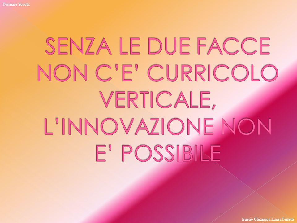 Formare Scuola Imerio Chiapppa Laura Ferretti