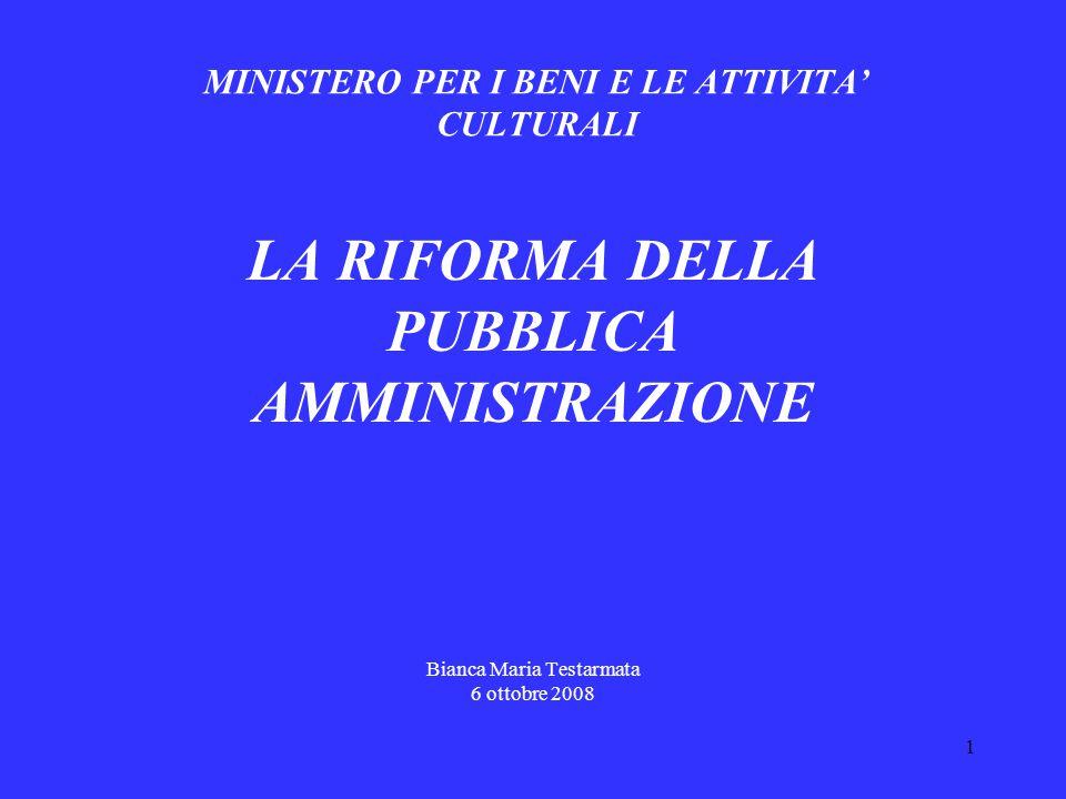 2 Le ragioni della riforma Cambiamento degli scenari GLOBALIZZAZIONE COMPLESSITA' COMPETITIVITA ' CRISI ECONOMICA