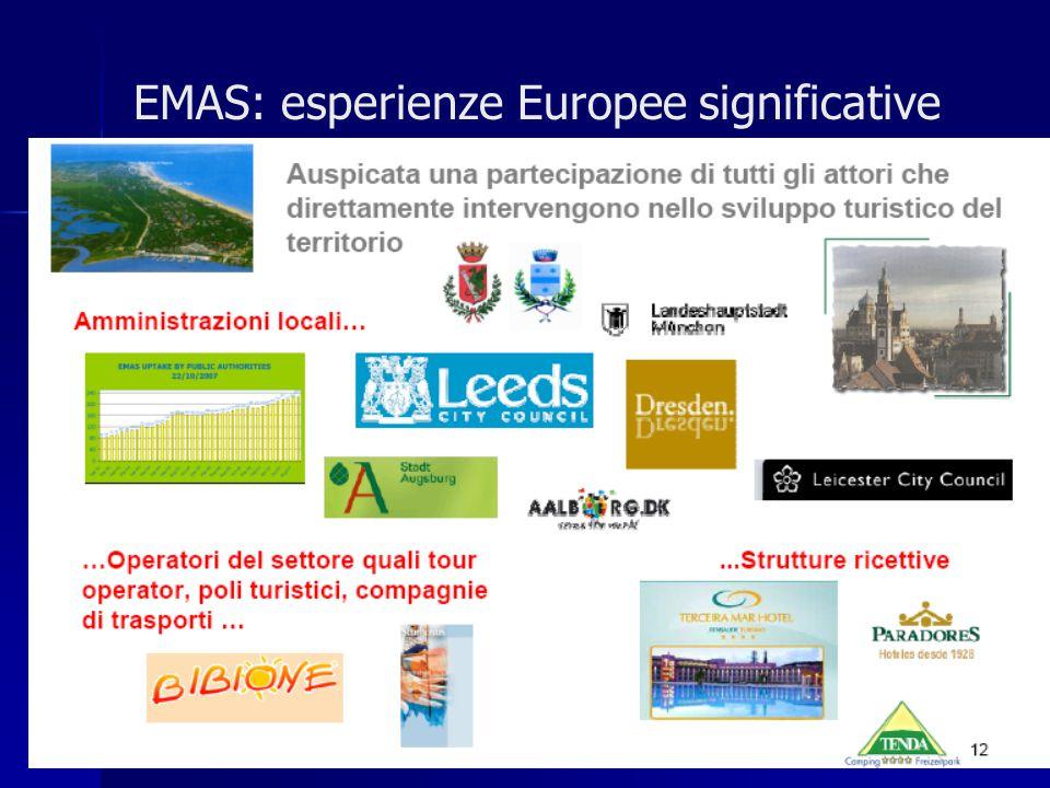 EMAS: esperienze Europee significative