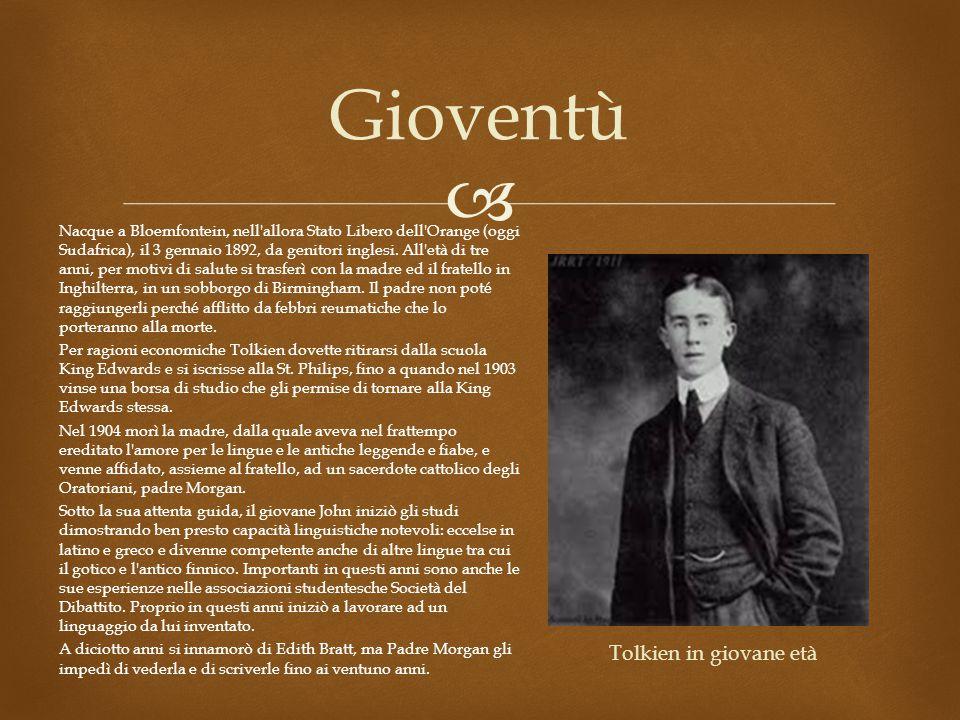 Gioventù Nacque a Bloemfontein, nell allora Stato Libero dell Orange (oggi Sudafrica), il 3 gennaio 1892, da genitori inglesi.