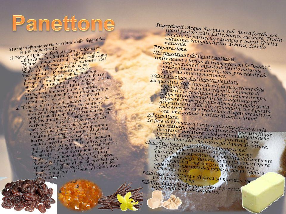 Storia: abbiamo varie versioni della leggenda, le più importanti; 1) Messer Ughetto degli Atellani, falconiere, abitava nella Contrada delle Grazie a