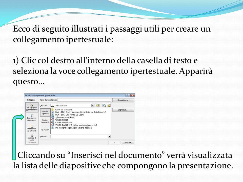 In informatica un collegamento ipertestuale è un rinvio da un'unità informativa ad un' altra è il modo di collegare una pagina di un ipertesto ad una