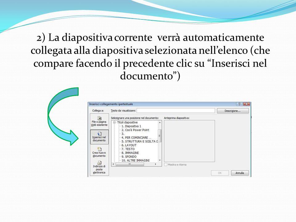 Ecco di seguito illustrati i passaggi utili per creare un collegamento ipertestuale: 1) Clic col destro all'interno della casella di testo e seleziona