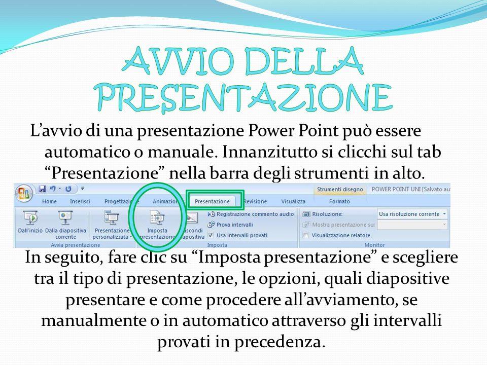 3) A riprova dell'avvenuto collegamento ipertestuale, la parola della slide a partire da cui si è effettuato il link, sarà visualizzata con un colore