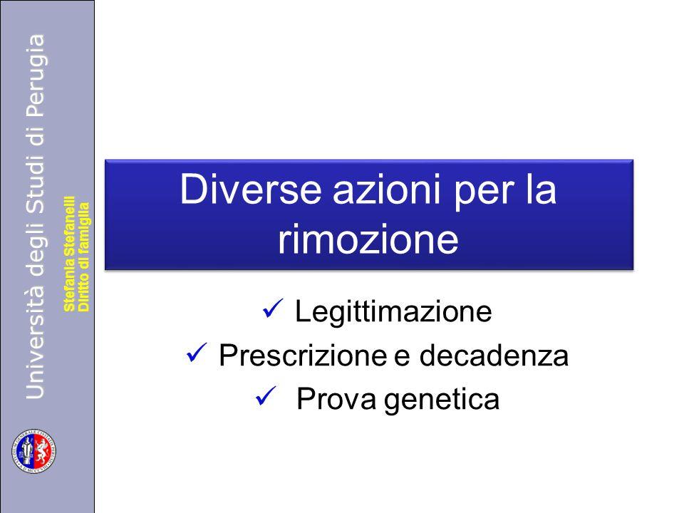 Università degli Studi di Perugia Diritto di famiglia Stefania Stefanelli Università degli Studi di Perugia Diritto di famiglia Stefania Stefanelli Di