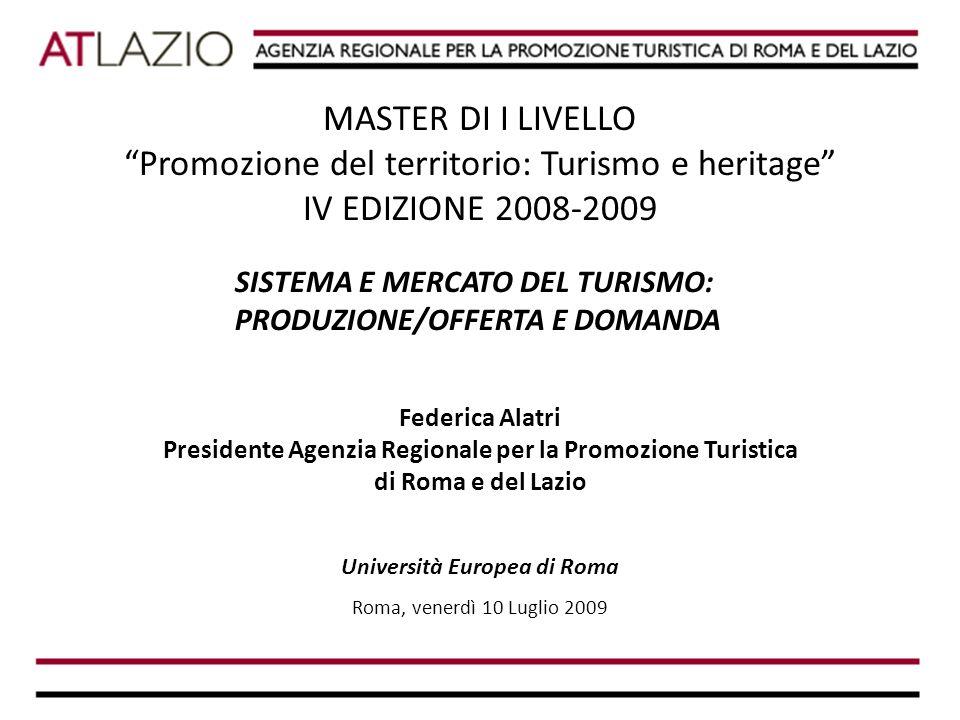 L'Agenzia è stata costituita da: REGIONE LAZIO COMUNE DI ROMA PROVINCIA DI RIETI PROVINCIA DI LATINA PROVINCIA DI FROSINONE PROVINCIA DI ROMA PROVINCIA DI VITERBO UNIONE DELLE CAMERE DI COMMERCIO DI ROMA E DEL LAZIO L'AGENZIA REGIONALE PER LA PROMOZIONE TURISTICA DI ROMA E DEL LAZIO LA PROMOZIONE TURISTICA