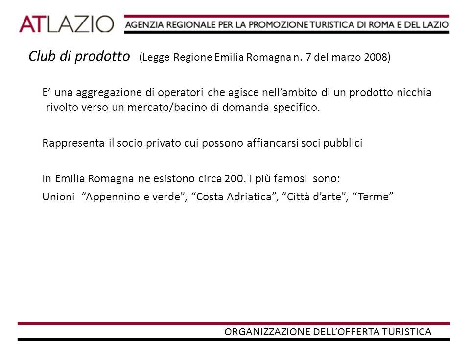 Sistemi turistici locali (Legge Quadro 29/03/2001 n°135 ART.