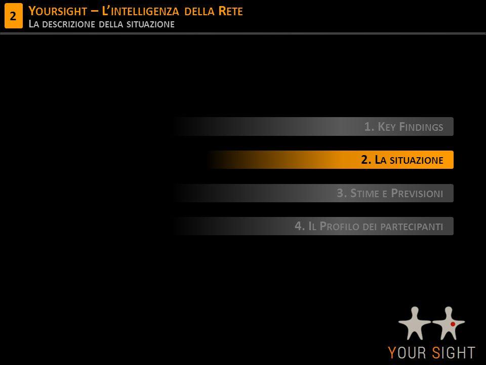 Y OURSIGHT – L' INTELLIGENZA DELLA R ETE L A DESCRIZIONE DELLA SITUAZIONE 1.