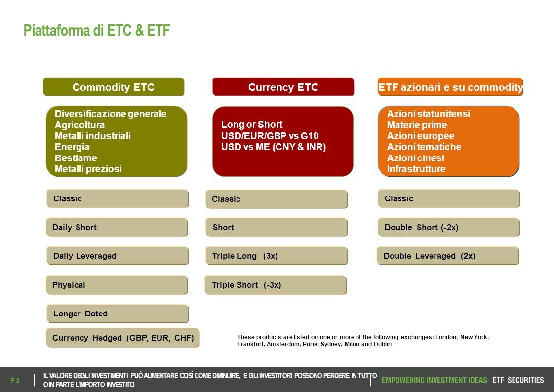 ETFS-E Fund MSCI China A GO UCITS ETF Codice Bloomberg: CASH IM Codice ISIN: IE00BHBFDF83 IL VALORE DEGLI INVESTIMENTI PUÒ AUMENTARE COSÌ COME DIMINUIRE, E GLI INVESTITORI POSSONO PERDERE IN TUTTO O IN PARTE L'IMPORTO INVESTITO P 24