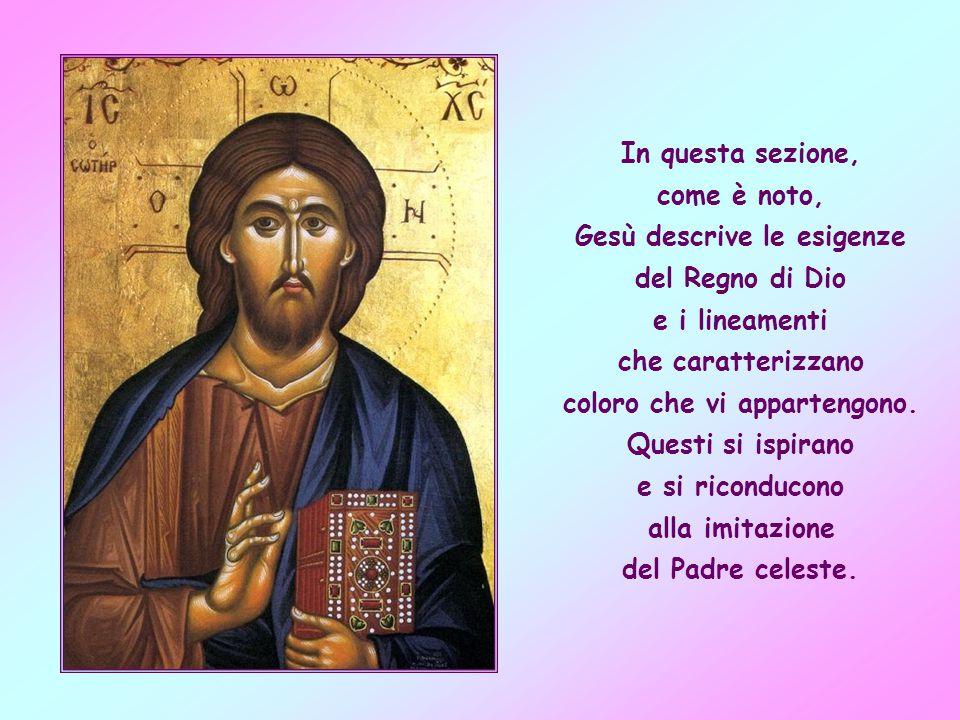 Essa fa parte di quell ampia sezione dei detti di Gesù, che nel Vangelo di Matteo corrisponde al discorso della montagna.