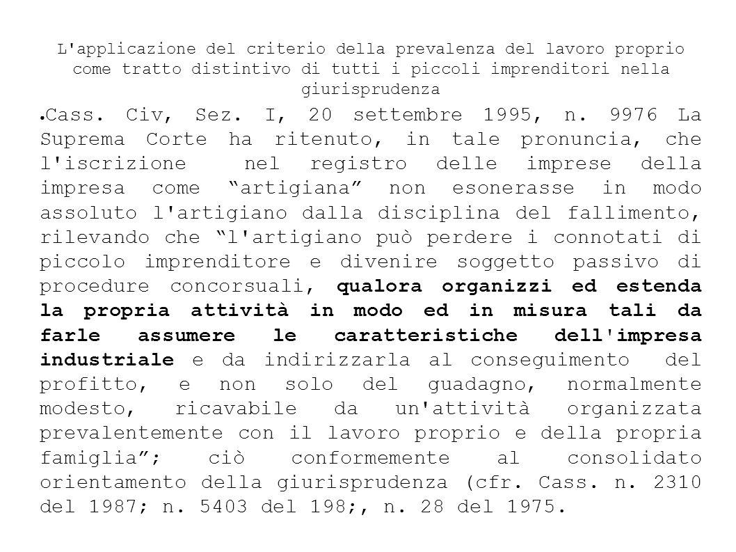 Cass.Civ., Sez. I, 22 dicembre 1994 n.