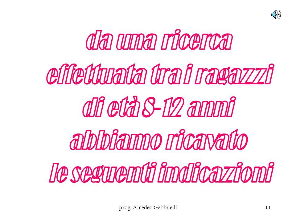 prog. Amedeo Gabbrielli11