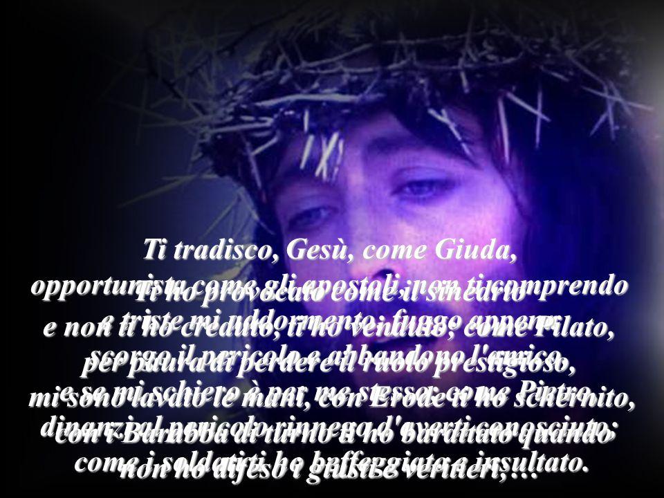 Davanti alla croce facciamo silenzio, ma col cuore pieno del mondo diciamo piangendo come Pietro dopo il tradimento: Tu sei l Amore .